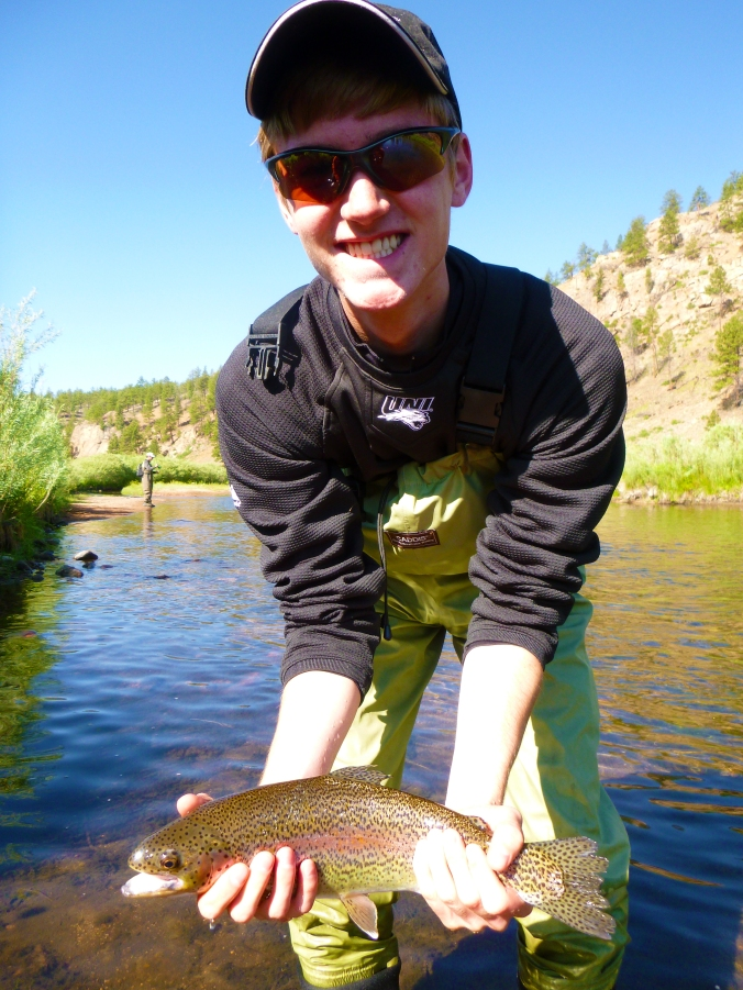First Rainbow on the fly!!